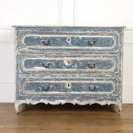 French Oak Painted Commode CC7517621