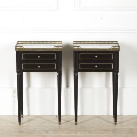 Pair of Ebonized Night Stands BD459879
