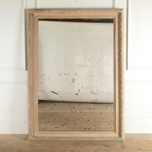 Bleached Oak Mirror MI4812756