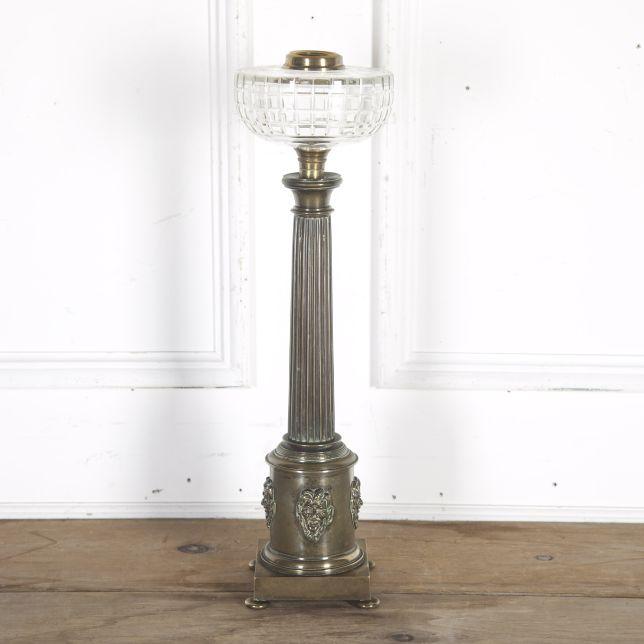 Regency Brass Bacchus Lamp LT2715554