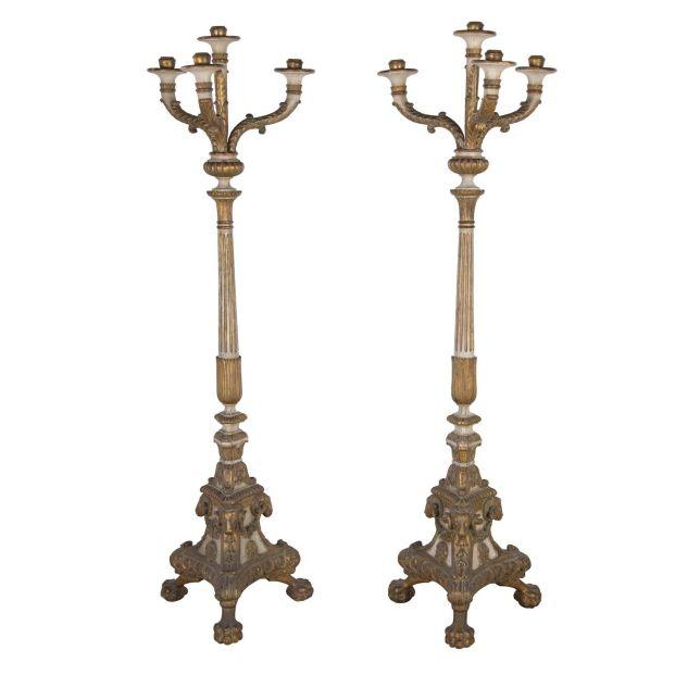 Pair of Italian Torcheres LF0454635