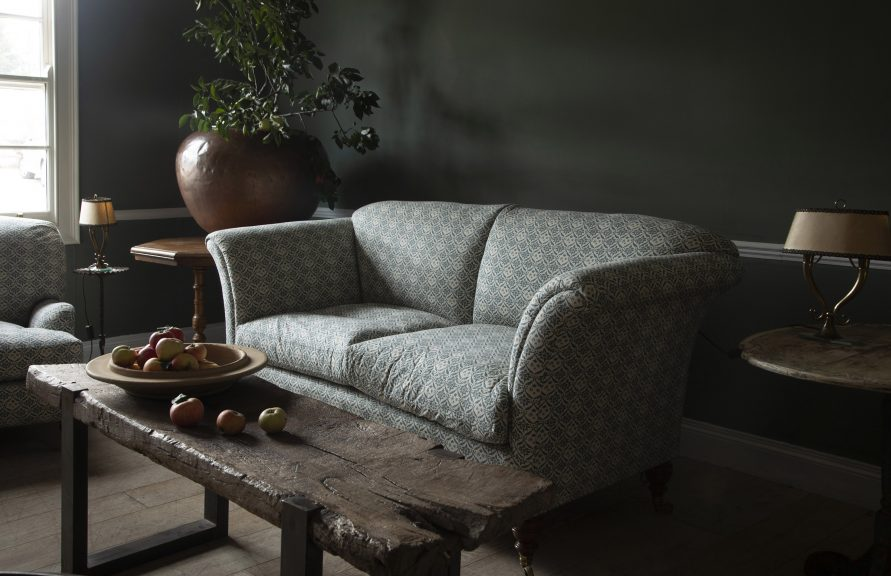 Howard & Sons antique sofa