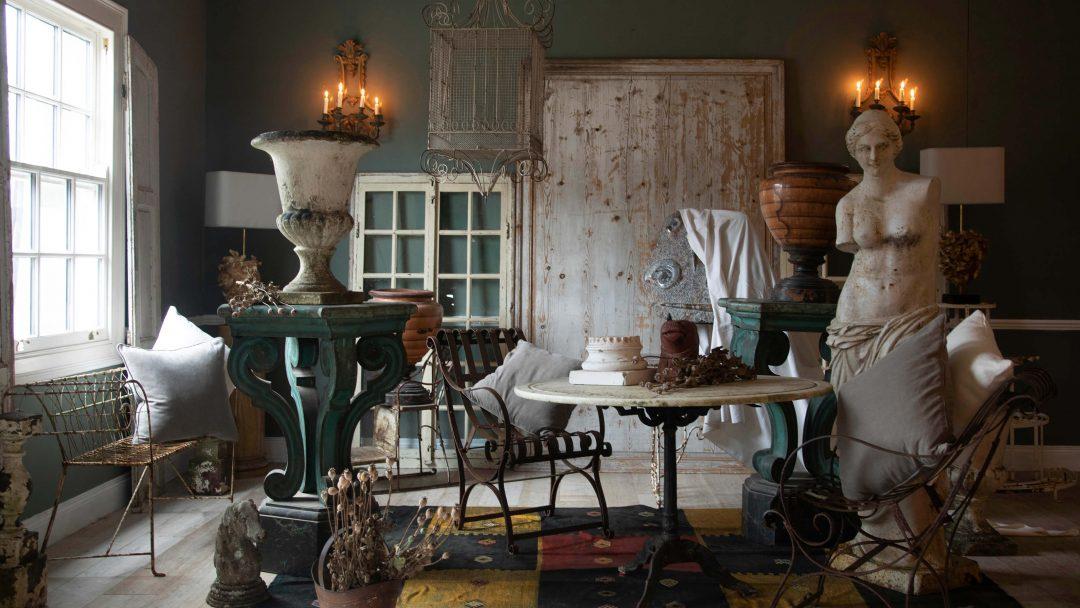 Where home meets garden - garden antiques