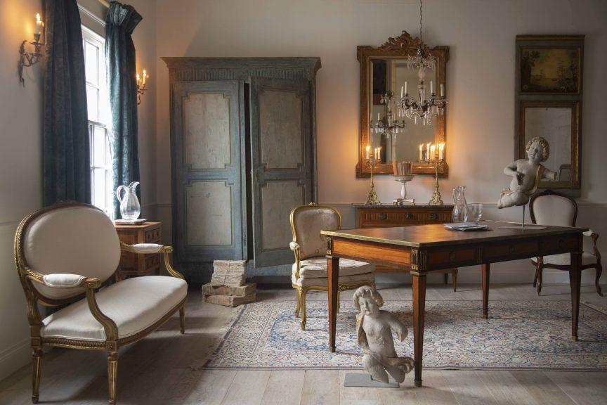 Louis XVI antique furniture