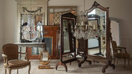 The powerful allure of antique mirrors
