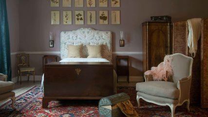 From bedroom to antiques haven
