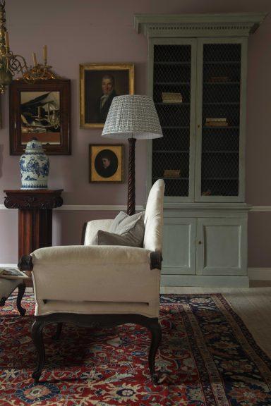 Georgian inspired living room