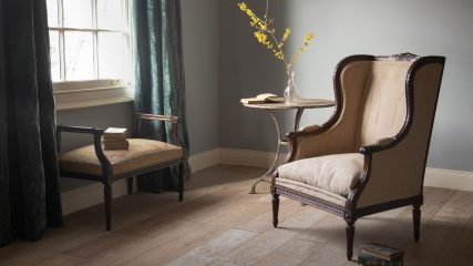 All about wingback armchairs
