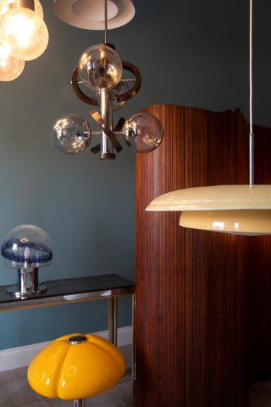 Iconic retro and vintage lighting