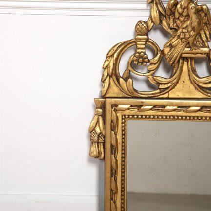 Louis XVI Style Marriage Mirror