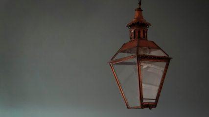 Antique lanterns for autumn evenings